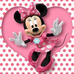 wallpaper da minnie rosa