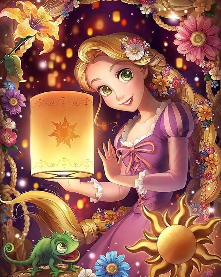 Fondo de pantalla Rapunzel