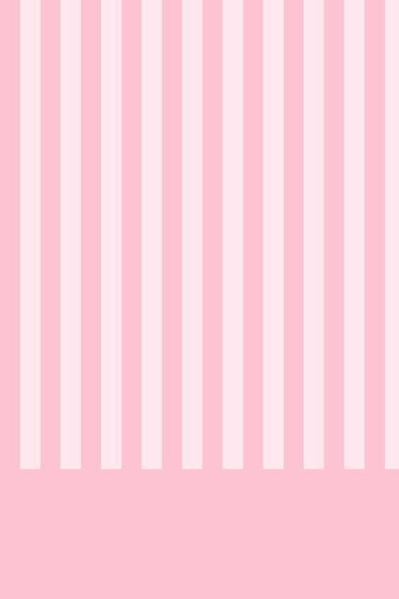 papel de parede listras rosa e branco