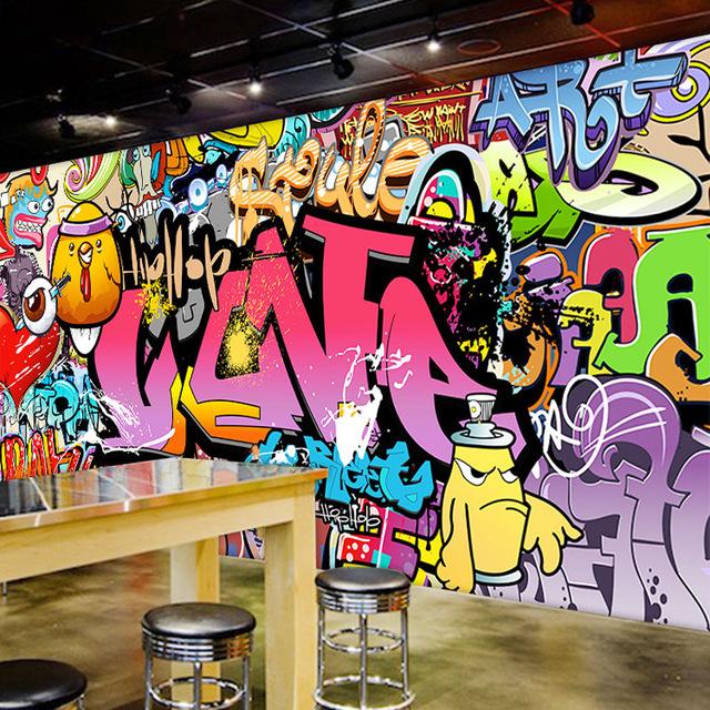 fondos de graffitis 3d de amor
