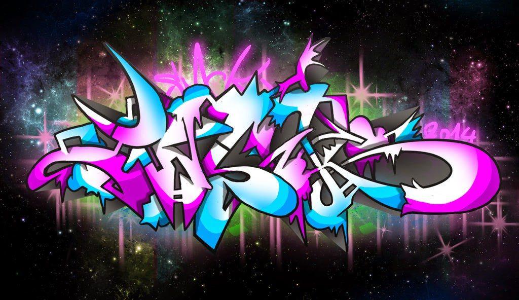 fondos de graffitis 3d letras