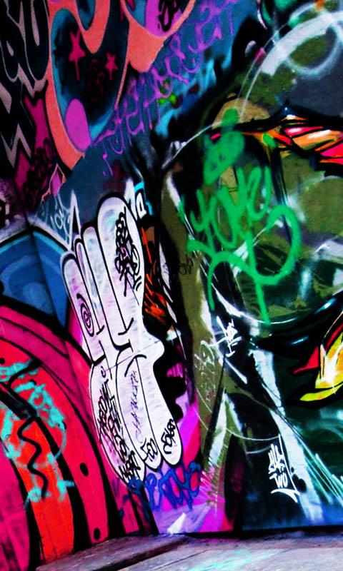 fondos de pantalla de graffitis hd