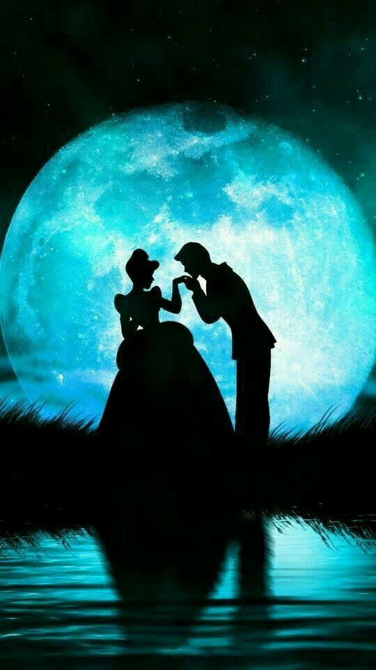 fondo de pareja de princesa