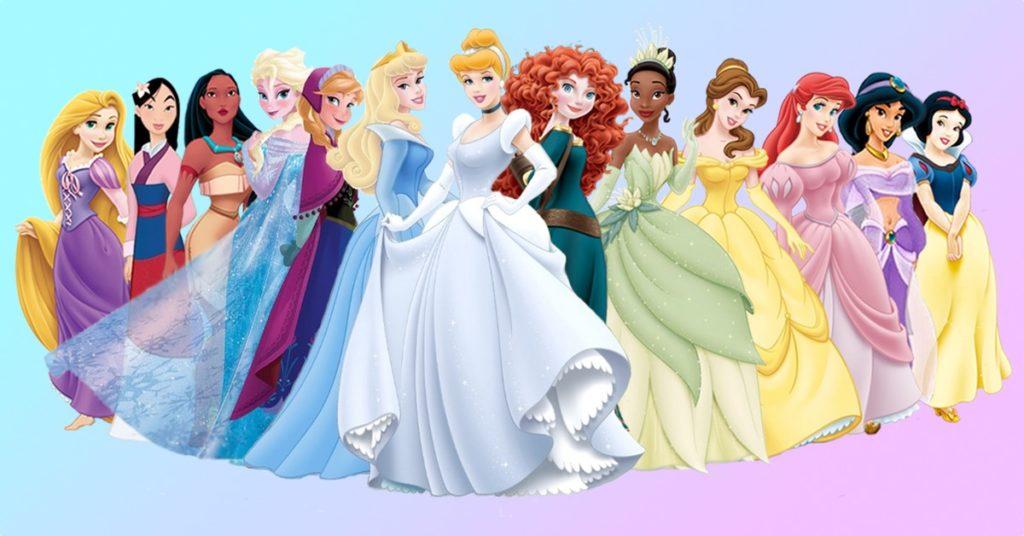 princesas disney anime