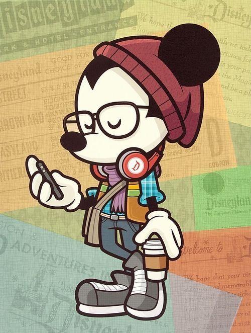 Fondos de pantalla de Mickey Hipster