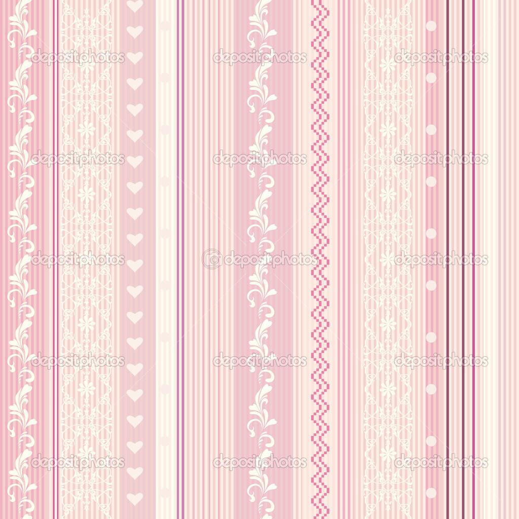 Wallpaper listras rosa