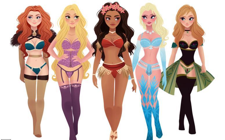 Princesas sexys Disney