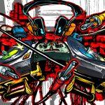 Fondos de pantalla graffitis 3D