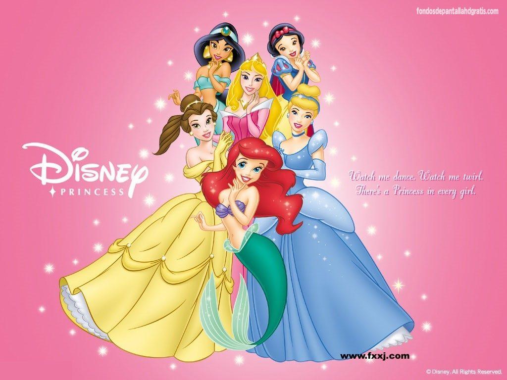 fondos de pantalla princesas disney hd
