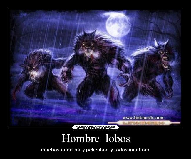 imágenes de hombres lobo