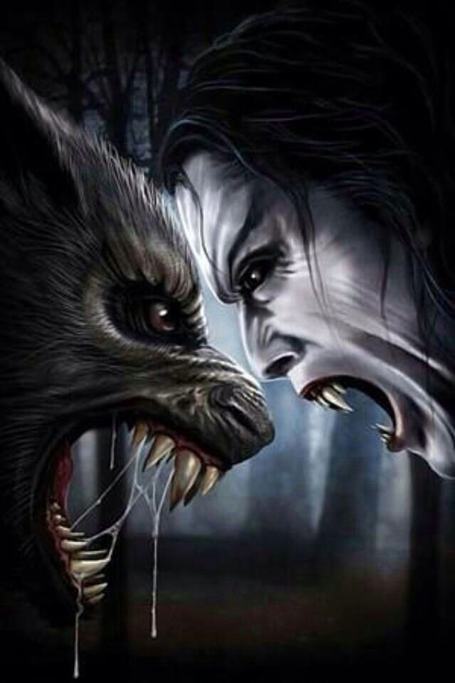 fotos de hombres lobo vs vampiros