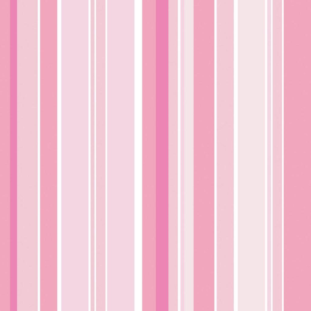 papel de parede listras rosa e bege