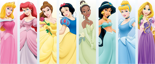 Walppaper de princesas de Disney