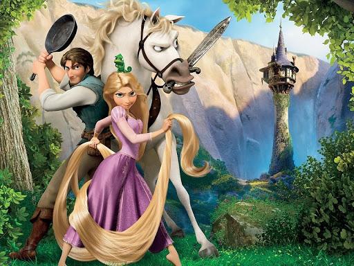 Fondo de Rapunzel