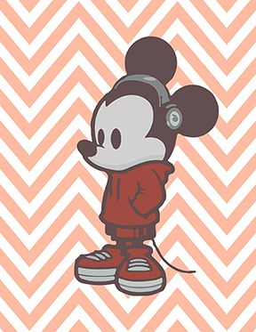 mickey mouse hipster wallpaper