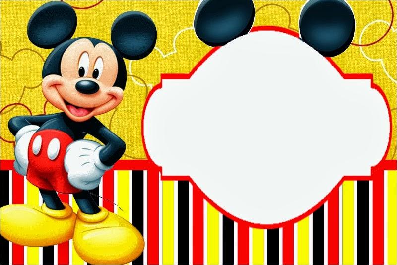 de mickey mouse para editar e imprimir gratis