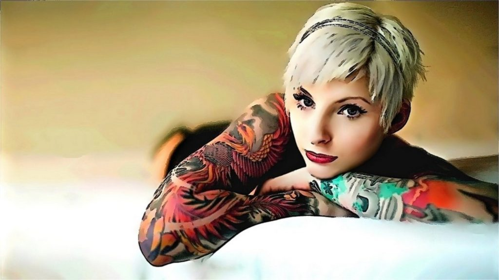 tattoo girl wallpapers 1080p