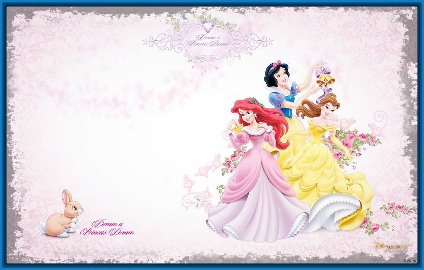 Fondos infantiles de princesas
