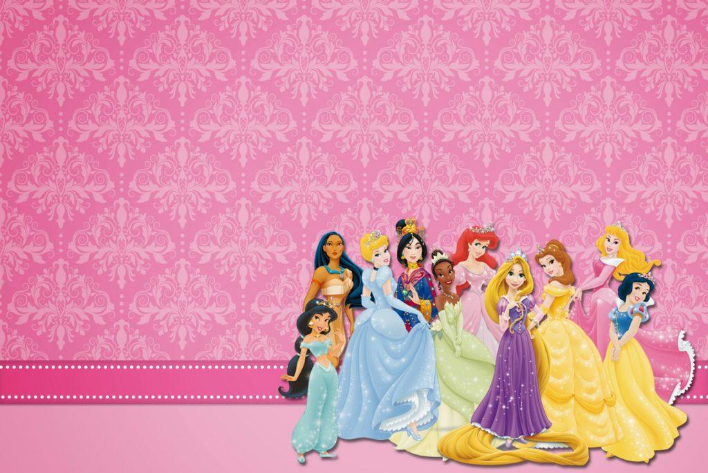 fondos para fotos infantiles de princesas