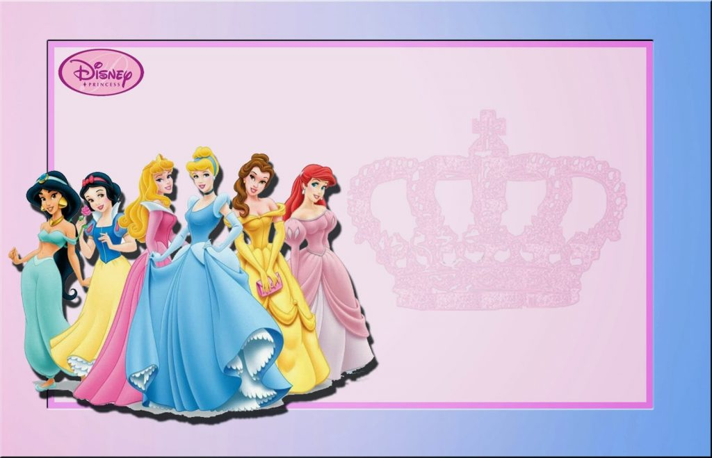 fondos para fotos infantiles gratis de princesas