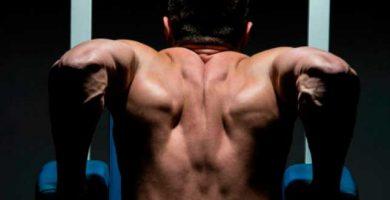 como hacer fondos de triceps en paralelas