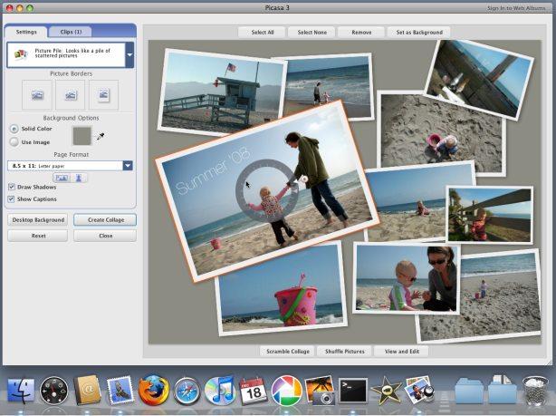 Cómo hacer un fondo de escritorio con un collage de imágenes