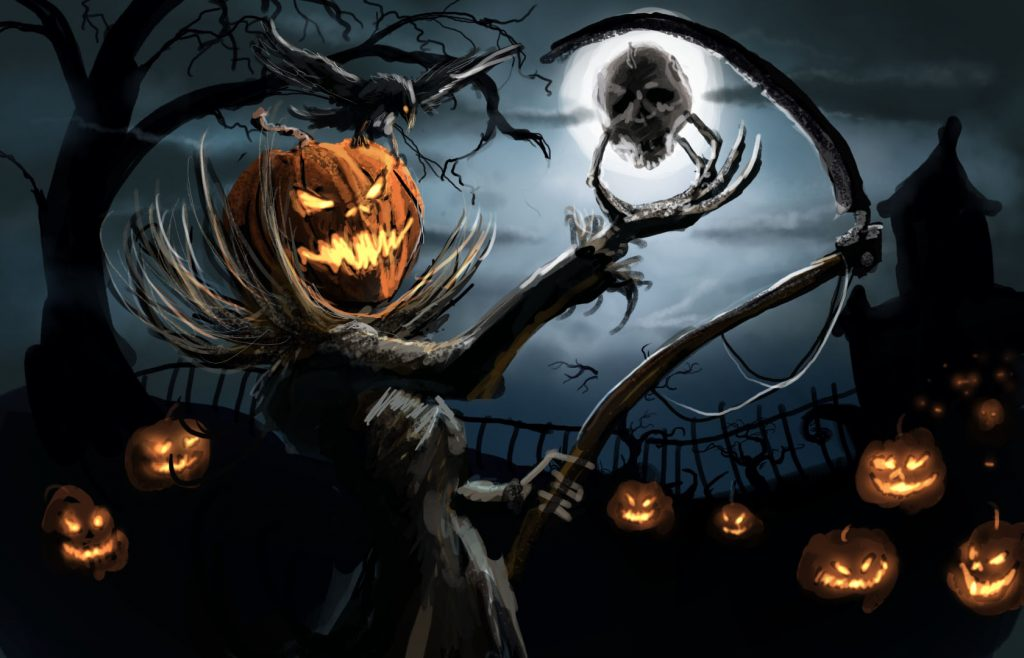 fondos de pantalla de halloween hd