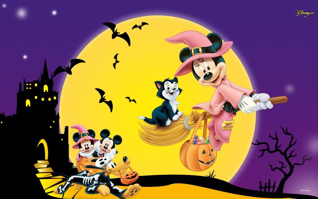 fondo de pantalla de halloween animados