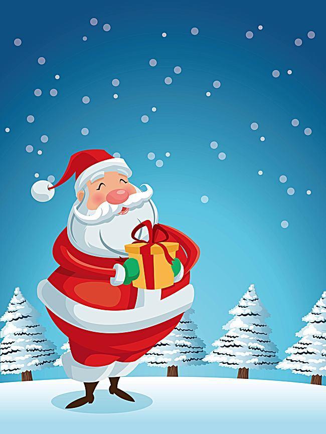 fondo animado de navidad