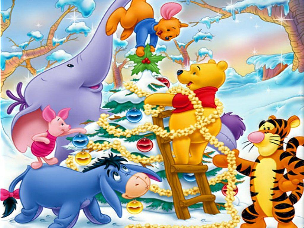fondos de caricaturas navideñas