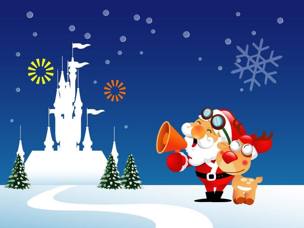 fondos pantalla navideños animados