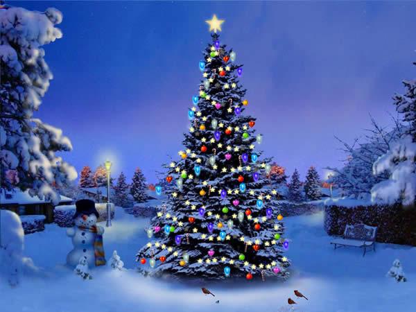 fondos de pantalla navideños 3d