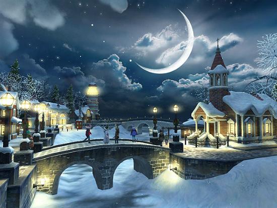 descargar gratis fondos de pantalla de navidad en 3d
