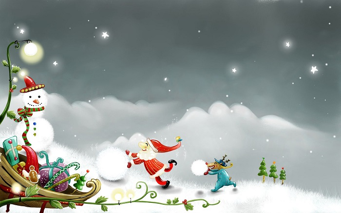 fondos de pantalla animados de navidad gratis