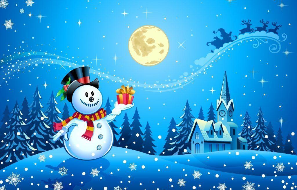 fondos de escritorio navideños animados gratis