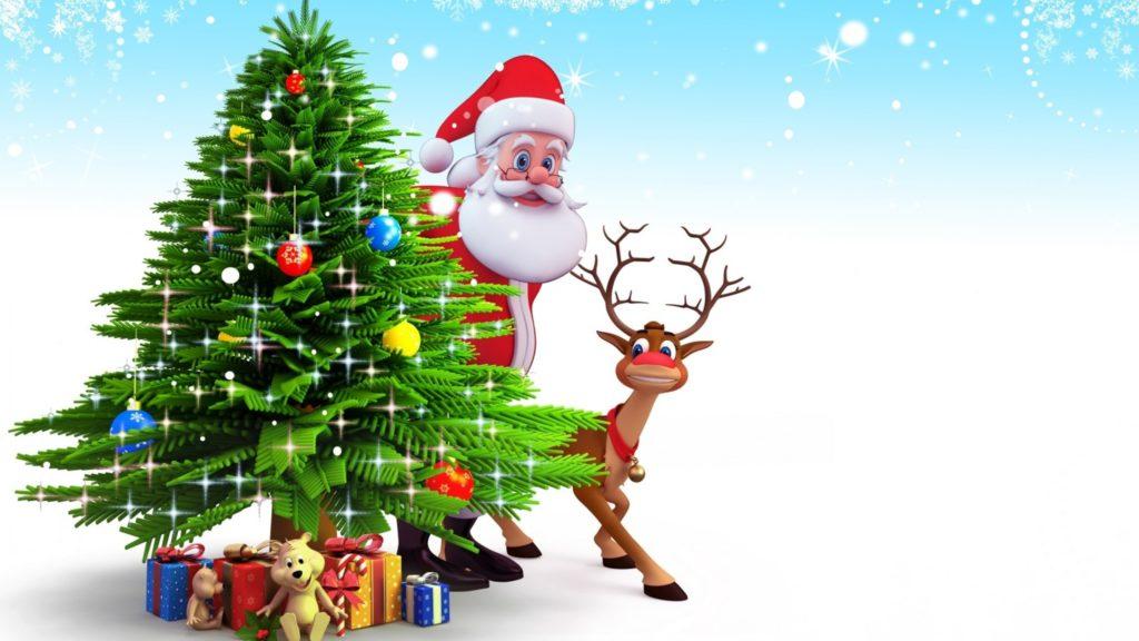 fondos de pantalla de navidad con movimiento
