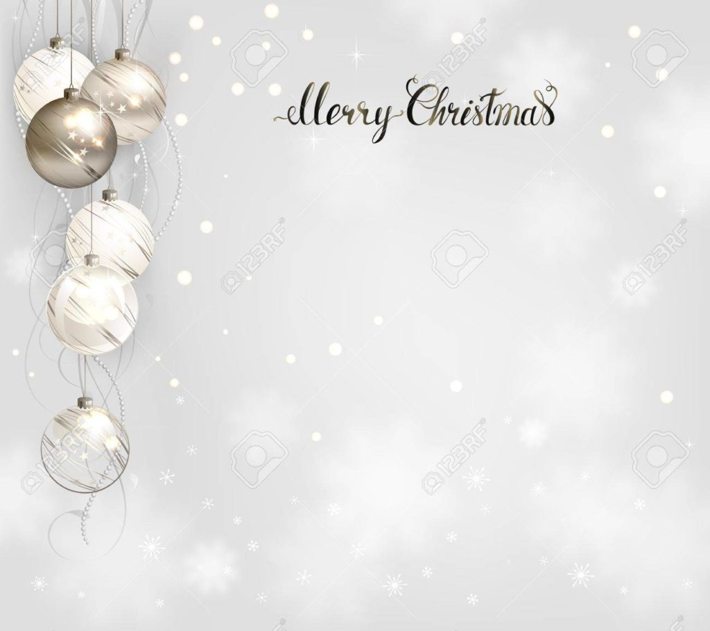fondos navideños en blanco