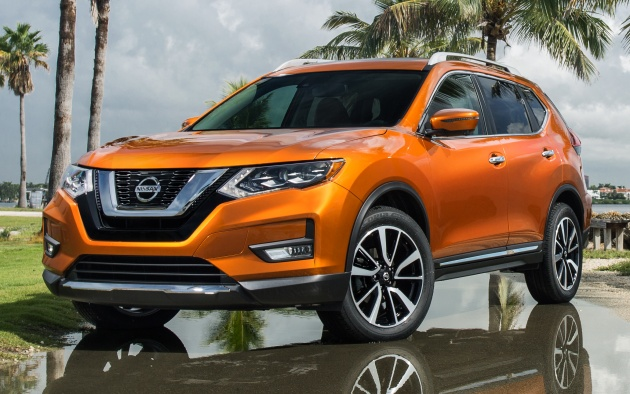 nissan x trail and rogue