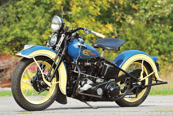 harley davidson knucklehead engine