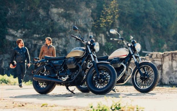 moto guzzi años 50
