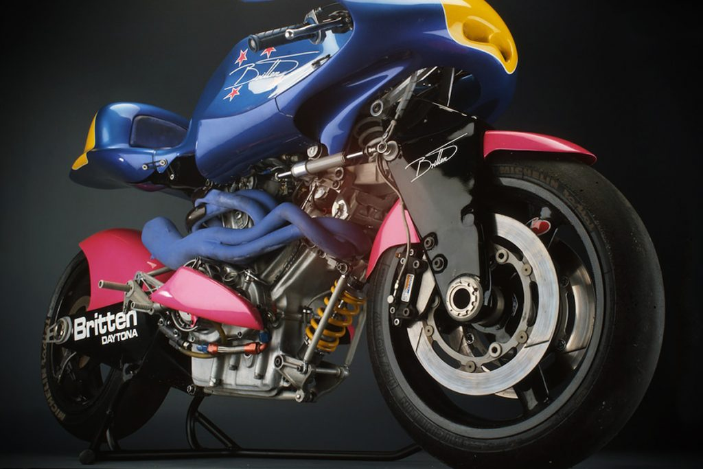 how much is a britten v1000 worth