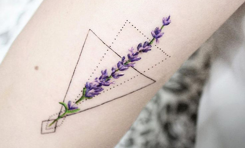 flor de lavanda a crochet