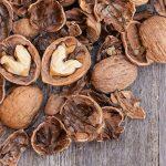walnuts heart shell