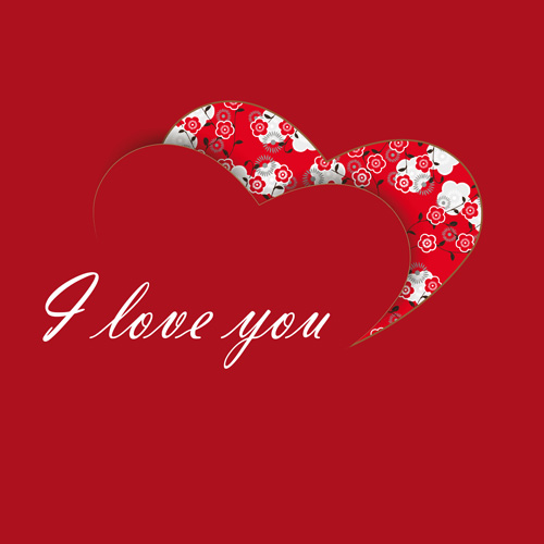 i love you heart and roses images