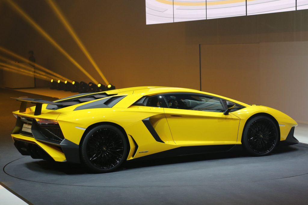 how much does a lamborghini aventador lp 750-4 superveloce cost