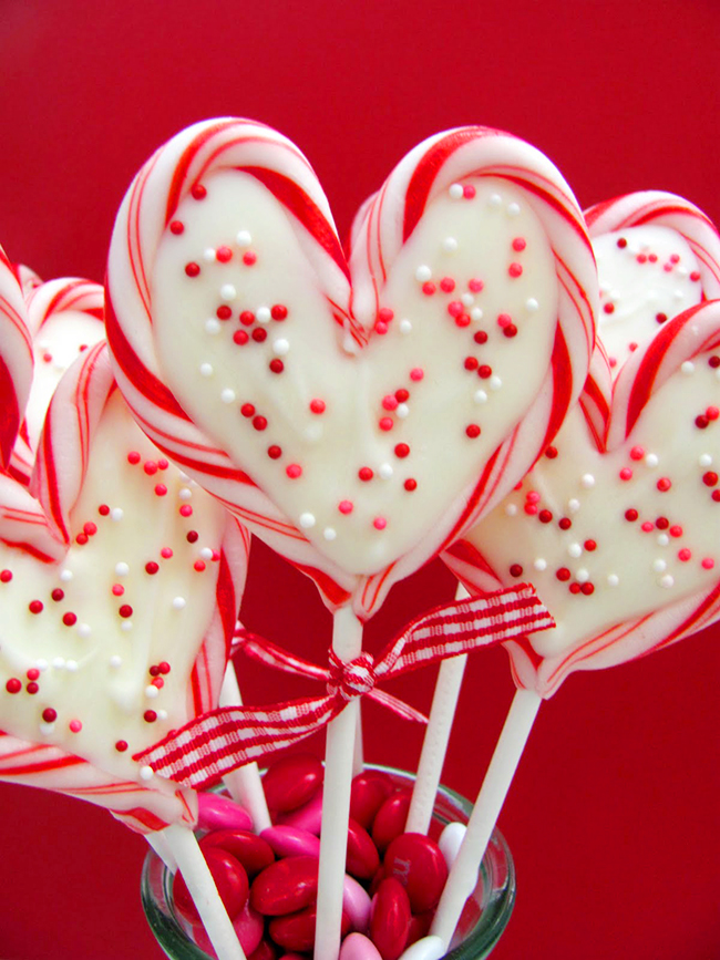 love heart candy pair