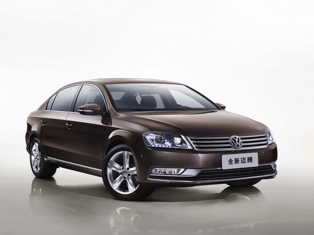 volkswagen magotan price in china