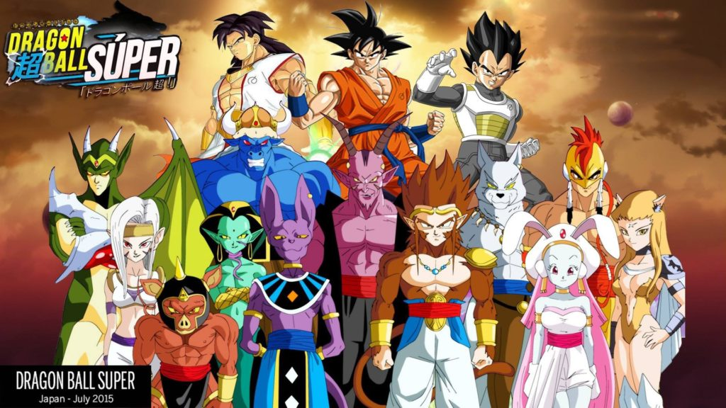 imagenes de dragon ball super a lapiz