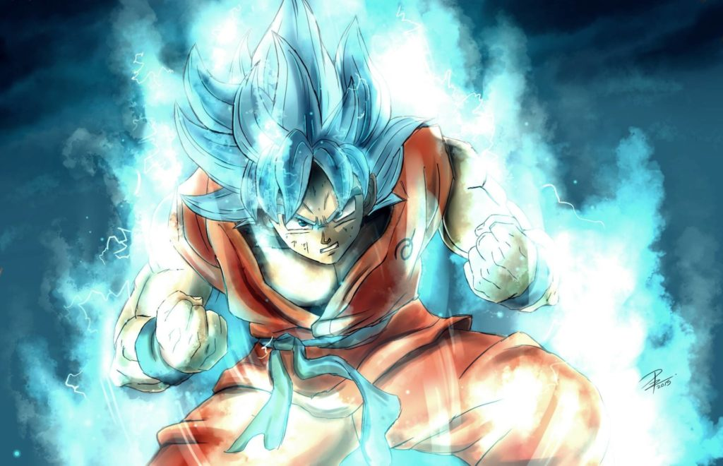 imagenes de dragon ball super sayayin 100