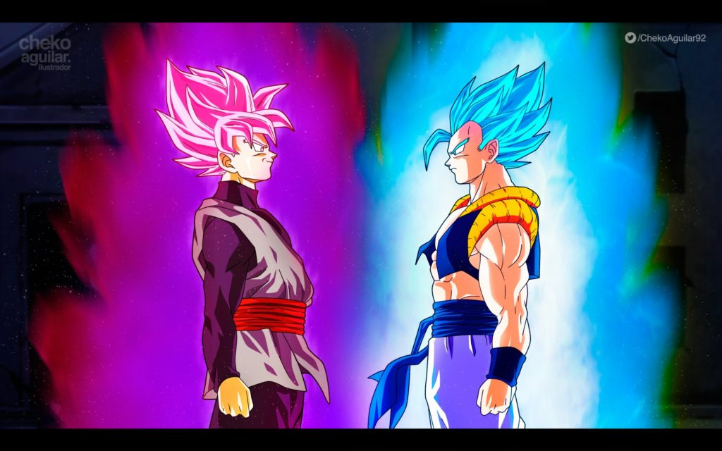 fondo de pantalla dragon ball super con movimiento